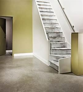 peinture mur escalier dootdadoocom idees de With peindre rampe escalier bois 4 la renovation de lescalier la maison de lilly