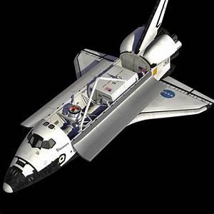 space shuttle orbiter 3d model