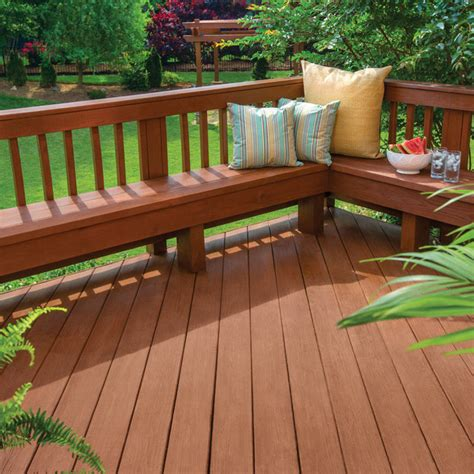 Olympic Deck Stain Colors by Semi Transparent Stain Sealant In One Elite Advanced