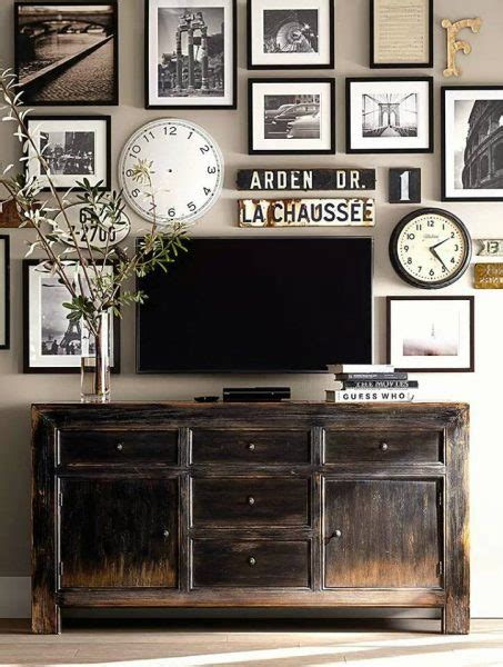 Check out this collection of inspirational ideas on how to decorate an entertainment wall. Hide That TV! Ideas for a DIY Accent Wall That Includes a ...