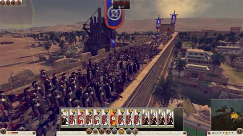 2 total war siege total war rome 2 the siege of alexandria gameplay