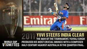 World Cup Vignettes : 50 | Yuvi steers India clear ...