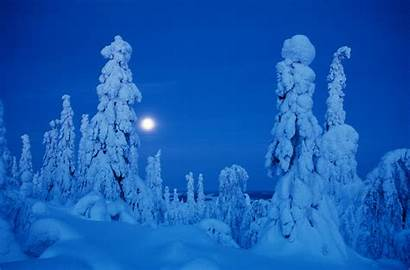 Finland Northern Lapland Sun Winter Rise Doesnt