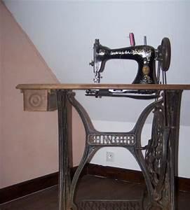 Ancienne Machine A Coudre : ancienne machine coudre singer m n treux le pitois 21150 ~ Melissatoandfro.com Idées de Décoration