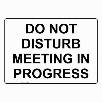 Meeting Disturb Progress Printable Enter Nhe Closed