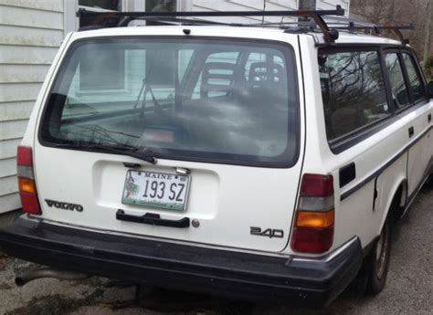 how can i learn about cars 1992 volvo 960 parking system volvo 240 wagon 1992 white for sale yv1aw880xn1919828 1992 volvo 240 base wagon 4 door 2 3l