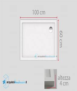 Matratze 60 X 100 : vendita piatto doccia 60x100 cm altezza 4 cm ~ Markanthonyermac.com Haus und Dekorationen