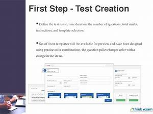 amazing online exam template ideas resume ideas With make a test template