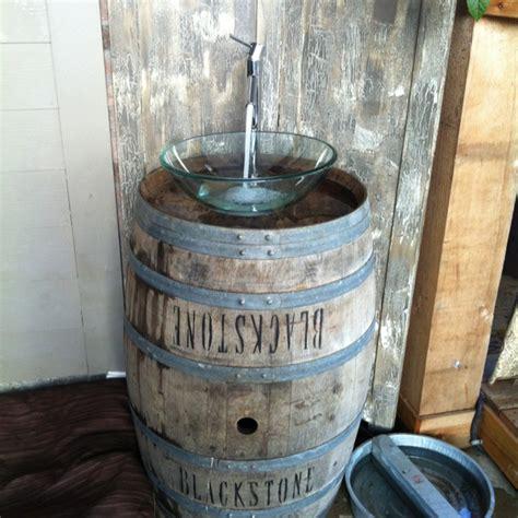 wine barrel tub 36 best wine barrel sink images on wine barrel