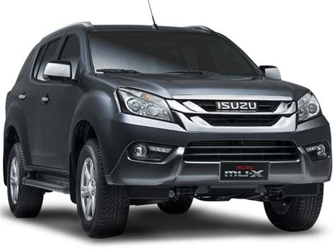 Isuzu Mu-x India Launch Date Revealed