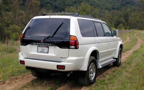 2000 Mitsubishi Montero Sport by 2000 Mitsubishi Montero Sport Information And Photos