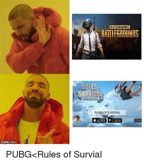 Pubg Memes - layeaukkwdwks battlegrounis rules of survival app store imgflipcom app store meme on me me