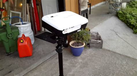 diy projector mounting system  speaker tripod youtube
