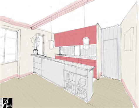 ouvrir cuisine ouvrir la cuisine sur le salon studio d 39 archi le