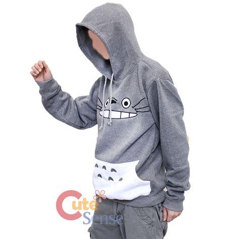 totoro sweater my totoro big hoodie sweatshirt large