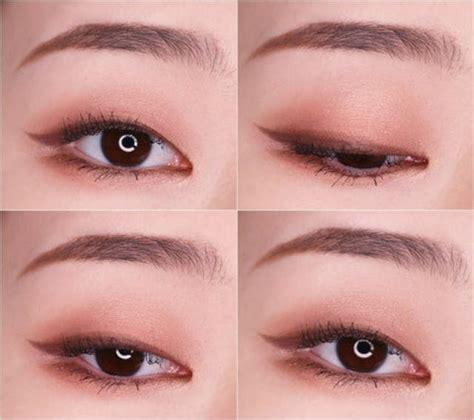 super cute korean eyeliner hacks nomakenolife   korean  japanese beauty box