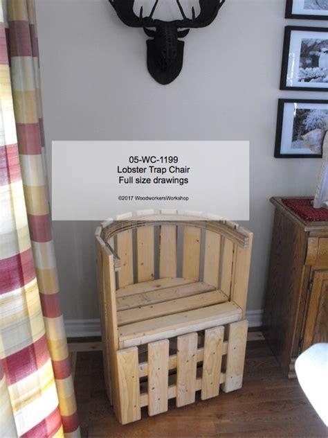 lobster trap chair woodchuckcanuckcom