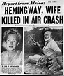 EH09826D Daily Mirror front page headline reports death of ...