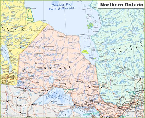 geography blog maps  ontario