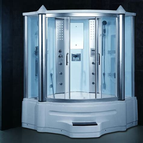 Whirlpool Tub Shower Combination by Gemini Steam Shower Whirlpool Tub Combo With Lcd Tv Tvs