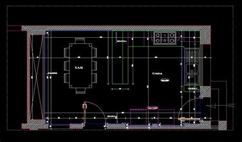 parlons architecture et construction plan cuisine format dwg