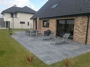 faire une terrasse en dalle wikiliafr With comment faire une terrasse en carrelage