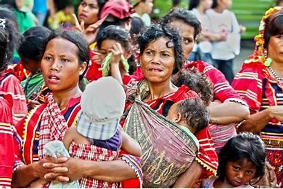 Lumad Philippines Indigenous Ribellione Donne Delle Comune