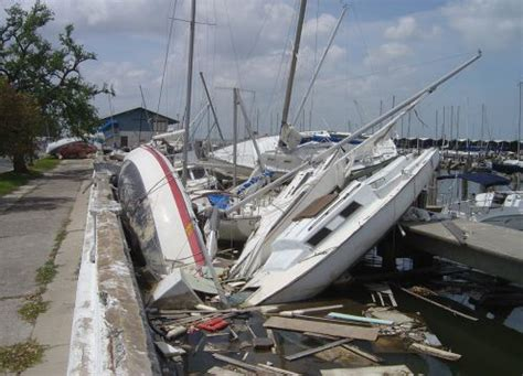Boat Salvage After Hurricane by Like A Summer Blockbuster Spills And Hurricanes Can