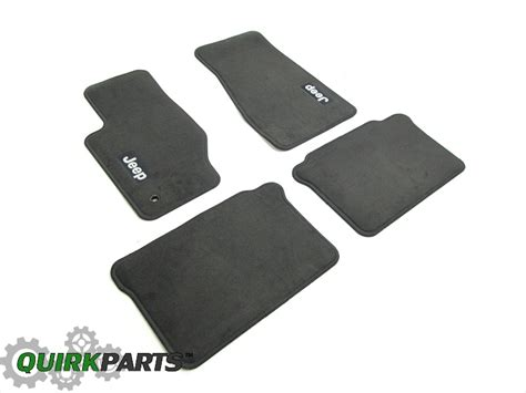 06 jeep commander floor mats 05 07 jeep grand 06 07 commander medium slate