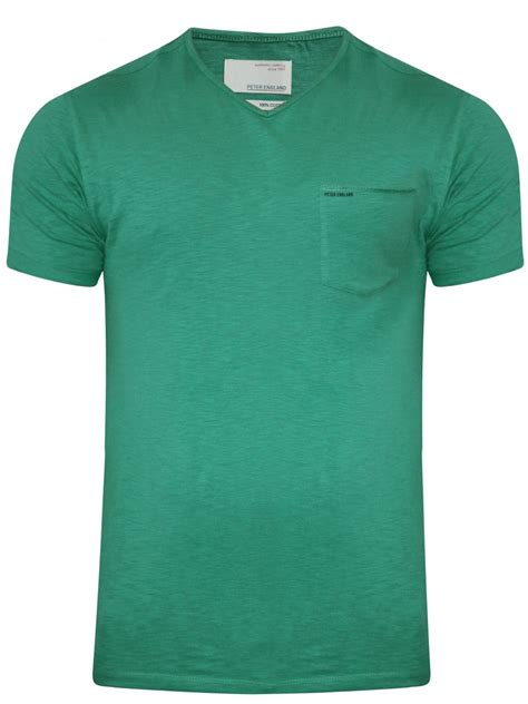 T Shirt Tshirt Green Light light green v neck t shirt ekc31700120 hs
