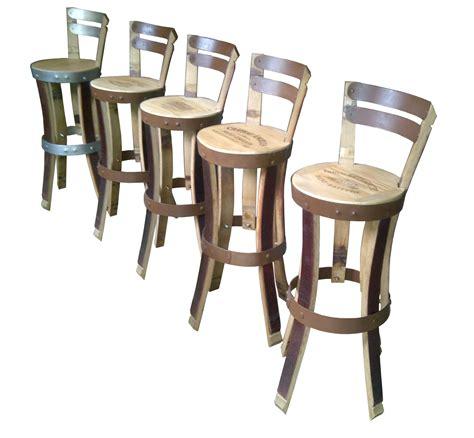 mobilier de bar chaise haute pesonnalisable en teinte