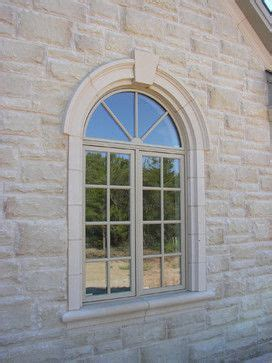Redwood Window Sill by Circle Top Window Surround With Ears Keystone And Sill