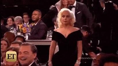 Gaga Lady Dicaprio Leonardo Gifs Oscar Globo