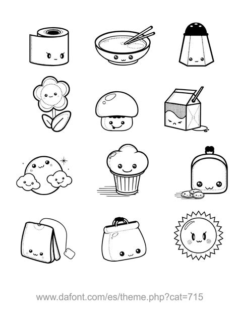 disegni kawaii 365 schizzi cibo pin di valentina su doodles kawaii drawings