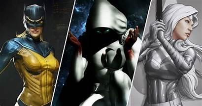 Netflix Fist Iron Marvel Characters