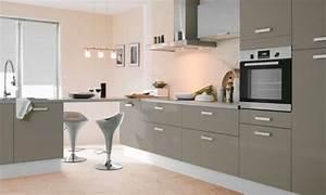 deco cuisine gris taupe With meuble cuisine couleur taupe 0 charmant gris taupe peinture et couleur taupe et gris