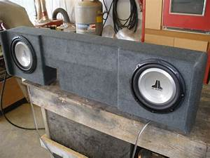 Ford F150 Supercrew Sub Box Ford F150 Supercrew Subwoofer Box