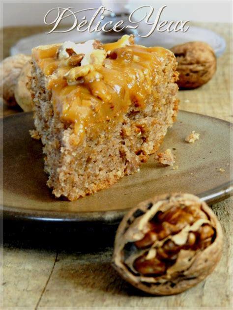 cuisiner des gateaux gâteau arboisien noix amandes nappé de caramel au