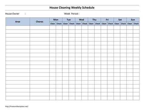 best 25 cleaning rota ideas on daily cleaning charts housekeeping schedule and
