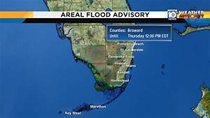 Flood advisory issued for Broward County until noon