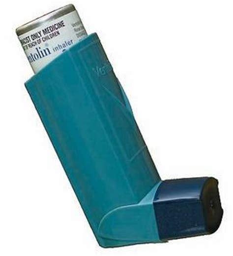 emergency salbutamol inhalers legislation