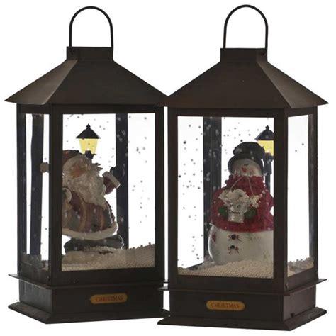 christmas lanterns metal christmas lantern with music and lights battery powered