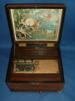 Shop with afterpay on eligible items. (eBay Ad Link) Victorian German Polyphon Disc-Playing Music Box | Music box, Decor collection ...