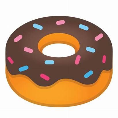 Icon Emoji Clipart Donut Doughnut Google Emojis