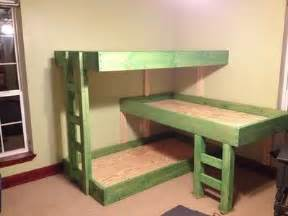 triple bunk bed plans baby time juxtapost
