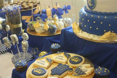 royal prince baby shower party ideas photo