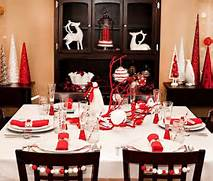 Holiday Evening Meal Space Table Decoration Ideas Decor Advisor Latest Christmas Center Table Decorations Ideas Best Christmas Ideas Elegant Christmas Decorating Ideas Merry Christmas Pinterest This Entry Is Part Of 50 In The Series Beautiful Christmas Decor Ideas