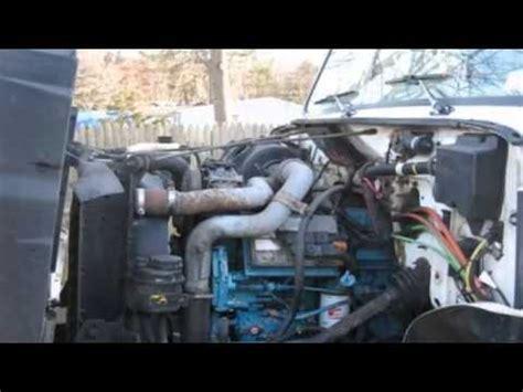 international  dt  box truck youtube