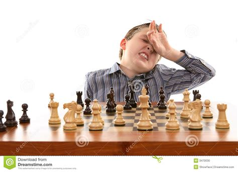 chess bad move stock photo image of pawn player