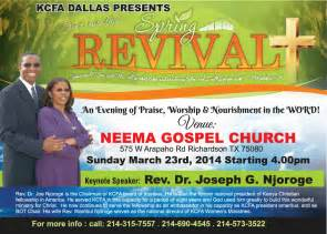 Spring Revival Themes